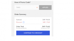 How to use coupon or discount code