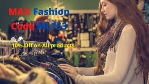 Max Fashion UAE coupon Code