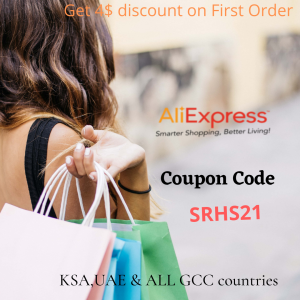 AliExpress Promo code KSA,UAE and GCC