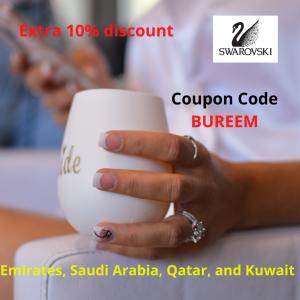 Swarovski discount code Emirates, Saudi Arabia, Qatar and Kuwait